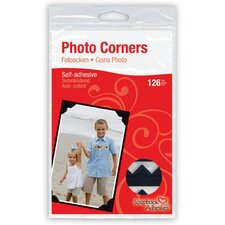 Paper Photo Corner Adhesives (Set of 3)
