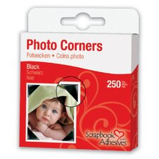 Mylar Photo Corner Adhesives (Set of 3)