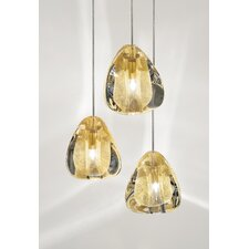 Mizu 3 Light Cluster Pendant