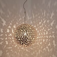"Orten'Zia 7.9"" H Table Lamp with Sphere Shade"