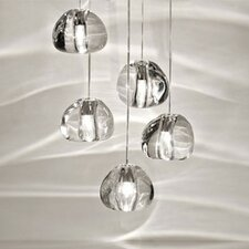 Mizu 5 Light Cluster Pendant