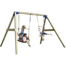 KBT Wood Free Swing Set