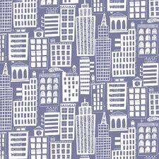 """Cityscape 15' x 27"""" Scenic Wallpaper"""