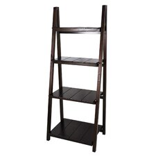 "Manhasset Slatted 60"" Standard Bookcase"