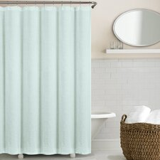 Washed Belgian Linen Shower Curtain