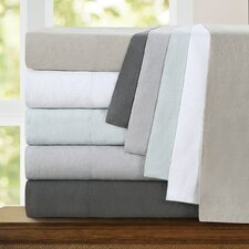 4 Piece Washed Belgian Linen Sheet Set
