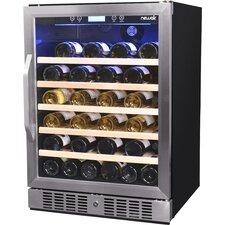 52 Bottle Single Zone Built-In Wine Refrigerator