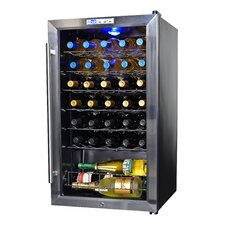 33 Bottle Single Zone Freestanding Wine Refrigerator
