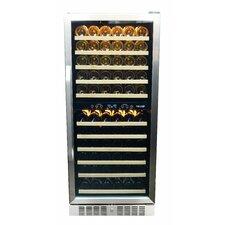 116 Bottle Dual Zone Built-In Wine Refrigerator