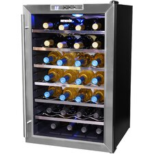 "28 Bottle 29.25"" Single Zone Freestanding Wine Refrigerator"