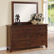 Cally 7 Drawer Dresser