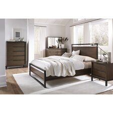 Prague Platform Customizable Bedroom Set