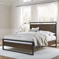 Prague Panel Bed