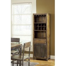 Farmhouse Bar with Wine Storage