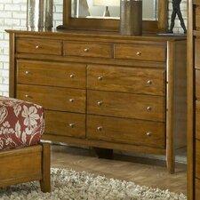 Brighton 9 Drawer Dresser