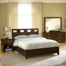 Riva Panel Customizable Bedroom Set