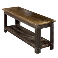 Farmhouse Wood Kitchen Bench