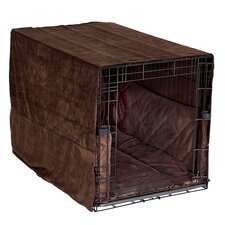 Plush Cratewear 3 Piece Dog Bedding Set