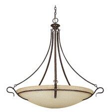 5 Light Bowl Pendant