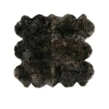 Patagonia Sheepskin Organic Brown Raccoon Area Rug