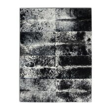 Patchwork Cowhide Oak Grey Freckles Area Rug