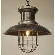 Topsie 1 Light Bowl Pendant