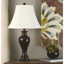 """Ridge 25"""" H Table Lamp with Bell Shade"""
