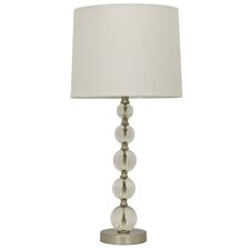"""Stacked Crystal 26.5"""" Table Lamp"""