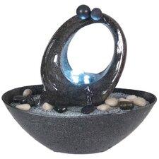 LED Brunnen aus Polyresin