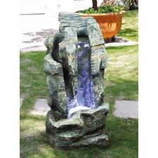 Brunnen aus Kunststein