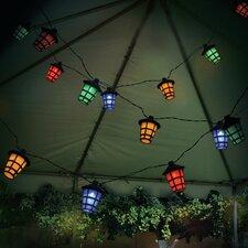 Lampion-Lichterkette 20-flammig