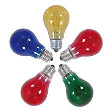 4-tlg. 5-tlg. Glühlampenset für Außen-Lichterkette