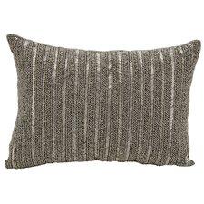 Beaded Stripes Lumbar Pillow