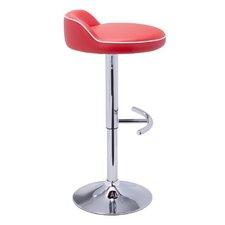 Urban Unity Solina Adjustable Height Bar Stool with Cushion