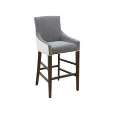 """5West Vincent 30"""" Bar Stool with Cushion"""