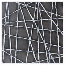 Ikon Black Web Painting Print