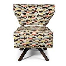 Sass Triad Fabric Slipper Chair