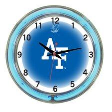 """NCAA 18"""" Team Neon Wall Clock"""