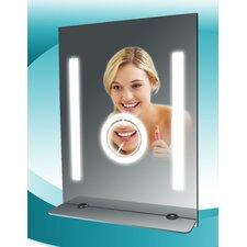 SteamSpa Tall Fog Free Bathroom Mirror with Glass Shelf