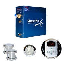 SteamSpa Indulgence 12 KW QuickStart Steam Bath Generator Package