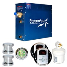 SteamSpa Royal 10.5 KW QuickStart Steam Bath Generator Package