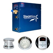 SteamSpa Indulgence 7.5 KW QuickStart Steam Bath Generator Package