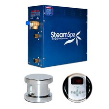 SteamSpa Oasis 9 KW QuickStart Steam Bath Generator Package