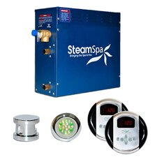 SteamSpa Royal 4.5 KW QuickStart Steam Bath Generator Package