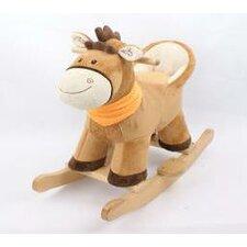 Tom Rocking Pony with Backrest