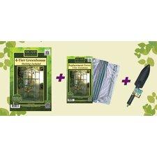 4-Tier Greenhouse Starter Kit