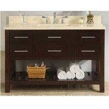 "Priva 48"" Single Open Bathroom Vanity Set"