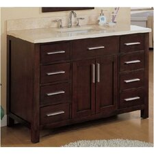 "Monaco 48"" Single Bathroom Vanity Set"
