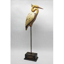 Shore Bird Crane Statue