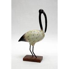 Shore Bird Beak Ibis Figurine